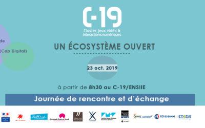 JOURNÉE EXCEPTIONNELLE  «UN ÉCOSYSTÈME OUVERT» : VENEZ DÉCOUVRIR LE C-19 !
