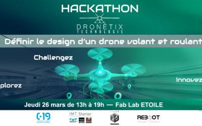 ANNULE ET REPORTE – Hackathon by Dronetix Technologie