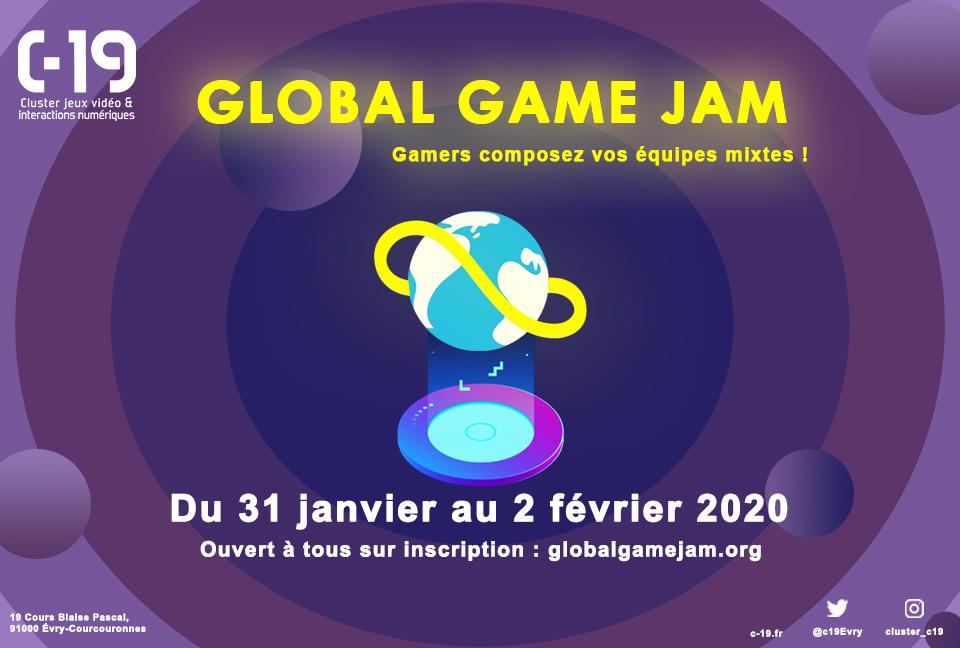 Global Game Jam 2020 en images !