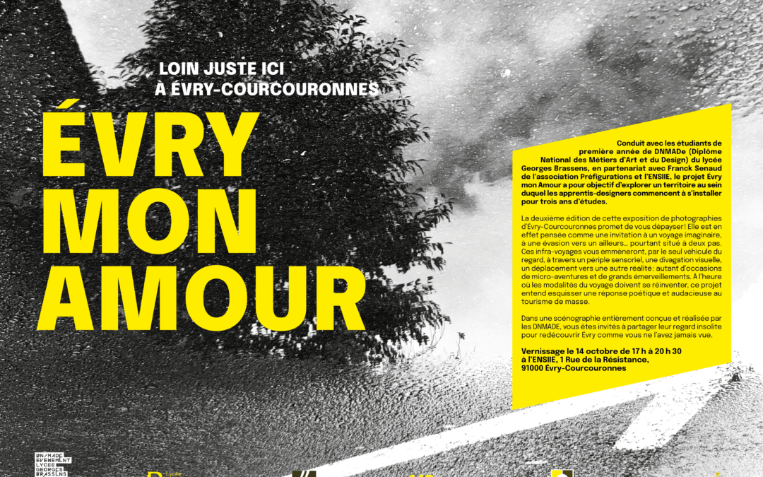 Exposition «Evry Mon Amour» édition 2 !