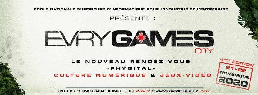 EVRY GAMES CITY 4 | Le succès de l'édition 100% digitale !