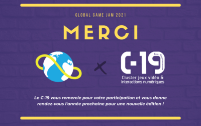 Global Game Jam 2021 : Retour sur notre édition 100% online